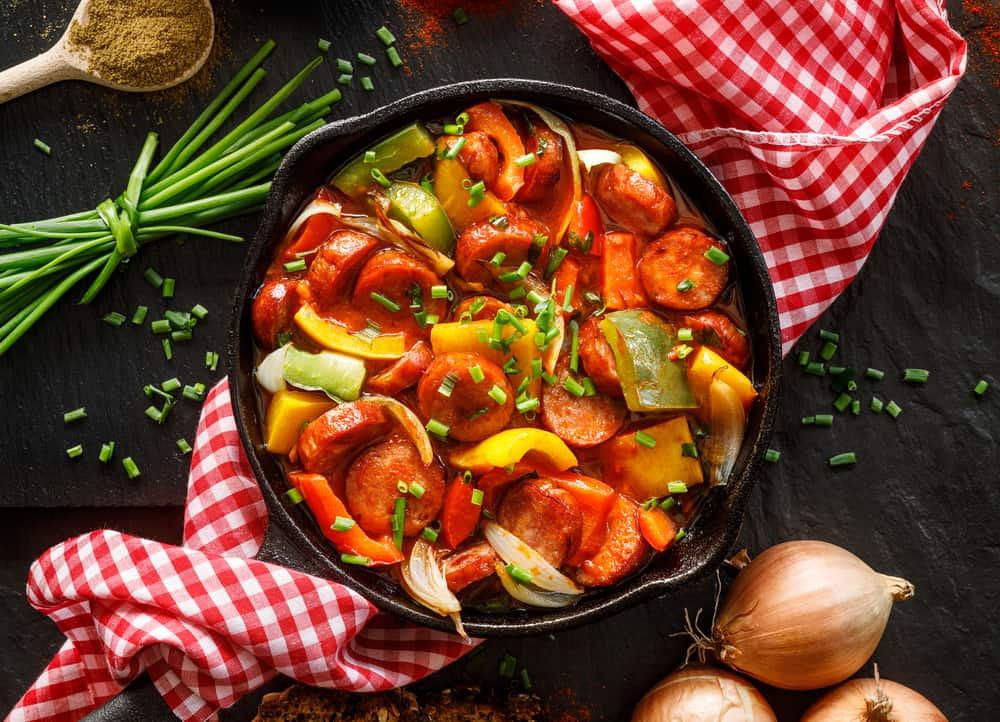 What to serve with sausages and peppers