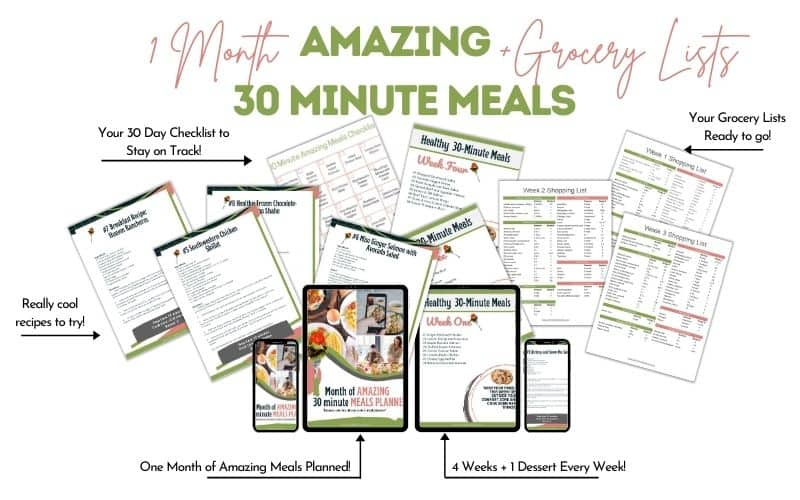 30-days-30-minute-meals-plus-grocery-lists