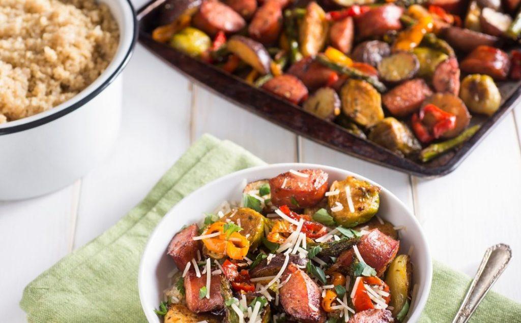 18 easy sheet pan recipies