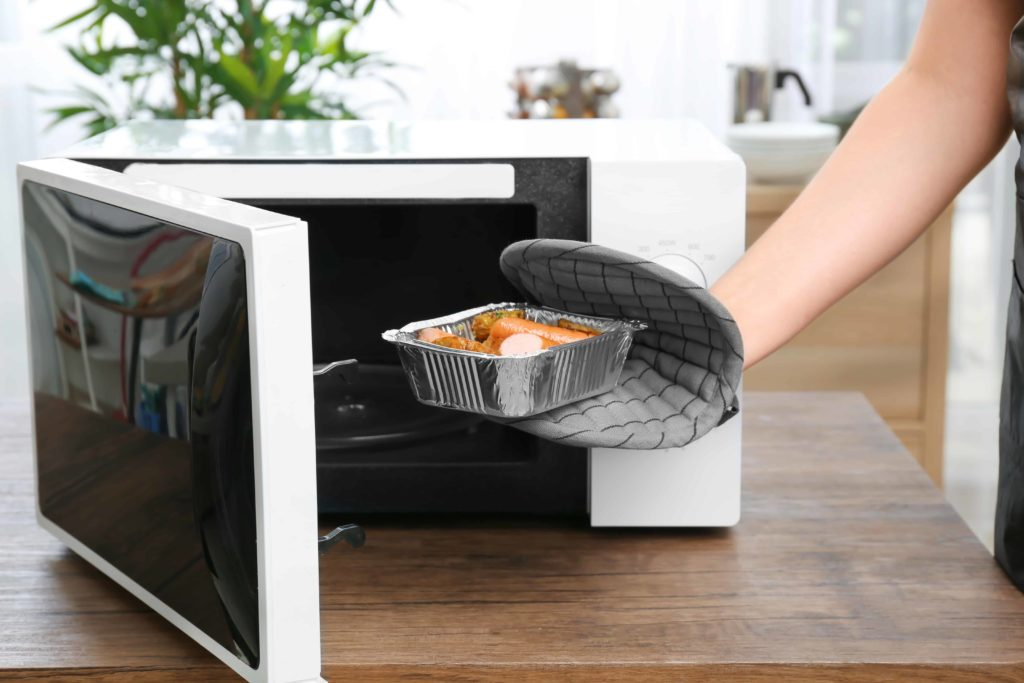 can you microwave foil