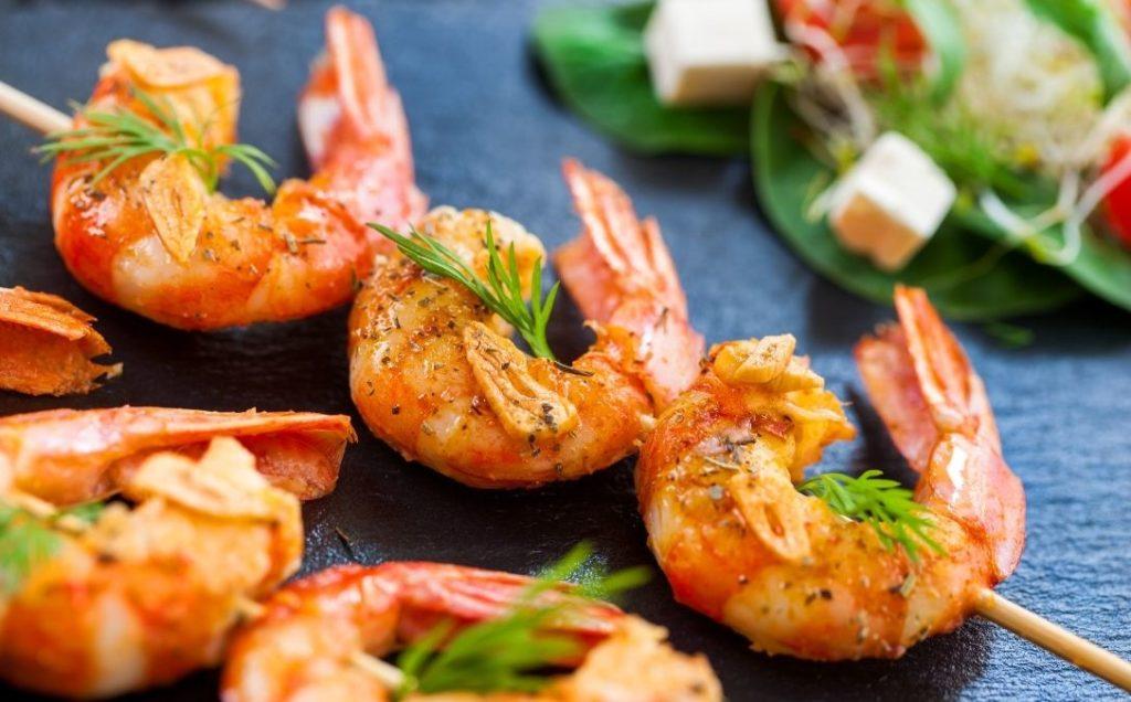 can you microwave shrimp